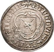 ½ Schwertgroschen - Ernst, Albrecht and Wilhelm III. – avers