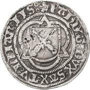 ½ Schwertgroschen - Friedrich III., Johann and Albrecht – avers
