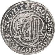½ Schwertgroschen - Friedrich III., Johann and Albrecht – revers