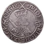 1 guldengroschen Friedrich III, Johann I et Georg – avers