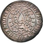 1 Groschen - Friedrich IV. (Helmgroschen) – revers