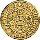 1 Goldgulden - Friedrich III., Georg and Johann – revers