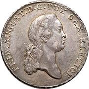 1 Taler - Friedrich August III – avers