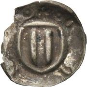 1 Pfennig - Friedrich II. (Hohlpfennig) – revers