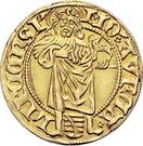 1 Goldgulden - Albrecht the Courageous – avers