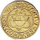 1 Goldgulden - Albrecht the Courageous – revers
