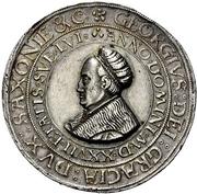 1½ Guldengroschen - Georg the Bearded – avers