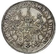 1½ Guldengroschen - Georg the Bearded – revers