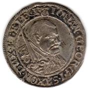 1 Groschen - Johann Georg I (Death of Johann Georg I) – avers
