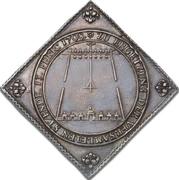 1 Taler - Friedrich August I. (Klippe; Shooting) – revers