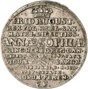 1 Groschen - Friedrich August I. (Death) – avers