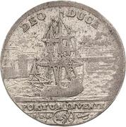 1 Doppelgroschen - Friedrich August I. (Death) – revers