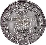 1/4 Thaler - Johann Georg I (réforme protestante) – revers