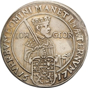 1/2 Thaler - Johann Georg I (réforme protestante) – avers