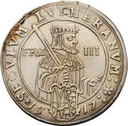 1/2 Thaler - Johann Georg I (réforme protestante) – revers
