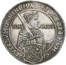 1 Thaler - Johann Georg I (réforme protestante) – avers