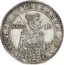 1 Thaler - Johann Georg I (réforme protestante) – revers