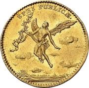 1 Ducat - Friedrich August II. (Marriage) – revers