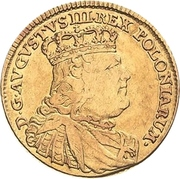 5 Thaler - Friedrich August II. – avers