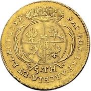 5 Thaler - Friedrich August II. – revers
