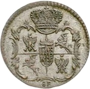1 Dreier - Friedrich August II. – avers