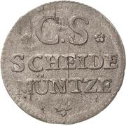1 Groschen - Friedrich August II. – avers