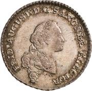 ⅙ Thaler - Friedrich August III. – avers
