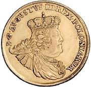10 Thaler - Friedrich August II. – avers