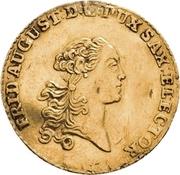 1 Ducat - Friedrich August III. – avers