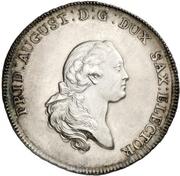 1 Thaler - Friedrich August III. (Prize Thaler) – avers