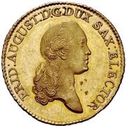 5 Thaler - Friedrich August III. – avers