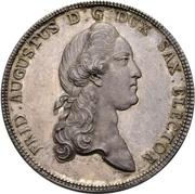 2 Thaler - Friedrich August III. (Prize Taler) – avers