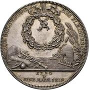 2 Thaler - Friedrich August III. (Prize Taler) – revers