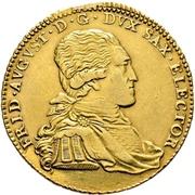 10 Thaler - Friedrich August III. – avers