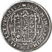 3 Thaler - Johann Georg I. (Vicariat) – revers