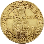 4 Ducat - Johann Georg I. (Reformation) – avers