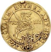 4 Ducat - Johann Georg I. (Reformation) – revers