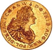 3 Ducat - Friedrich August I. – avers