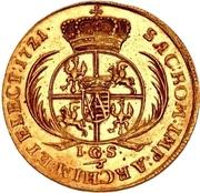 3 Ducat - Friedrich August I. – revers