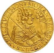 5 Ducat - Johann Georg III. – avers