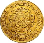 5 Ducat - Johann Georg III. – revers