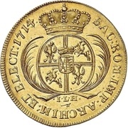5 Ducat - Friedrich August I. – revers