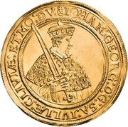 6 Ducat - Johann Georg I. (Vicariat) – avers