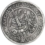 4 Thaler - Johann Georg I – avers