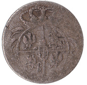 1/24 thaler Friedrich August II – avers