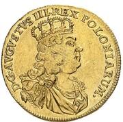 1 ducat Friedrich August II – avers