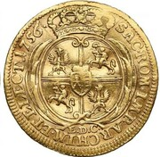 1 ducat Friedrich August II – revers