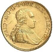 5 thaler Friedrich August III – avers