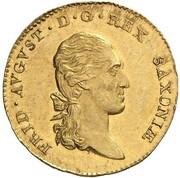 1 ducat Friedrich August III – avers
