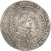 2 thaler Christian II, Johann Georg I et August (Morth) – avers
